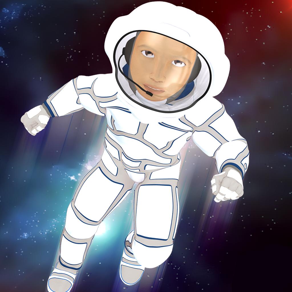 Astronaut Jump Space Galaxy Adventure Pro
